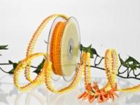 Borte - orange-gelb - 15mm - 15m - mD
