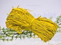 Bastbündel 50 Gramm - gelb