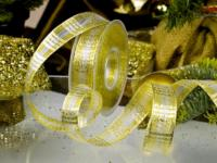 Goldkaroband - 25mm - 20m - mD - gold