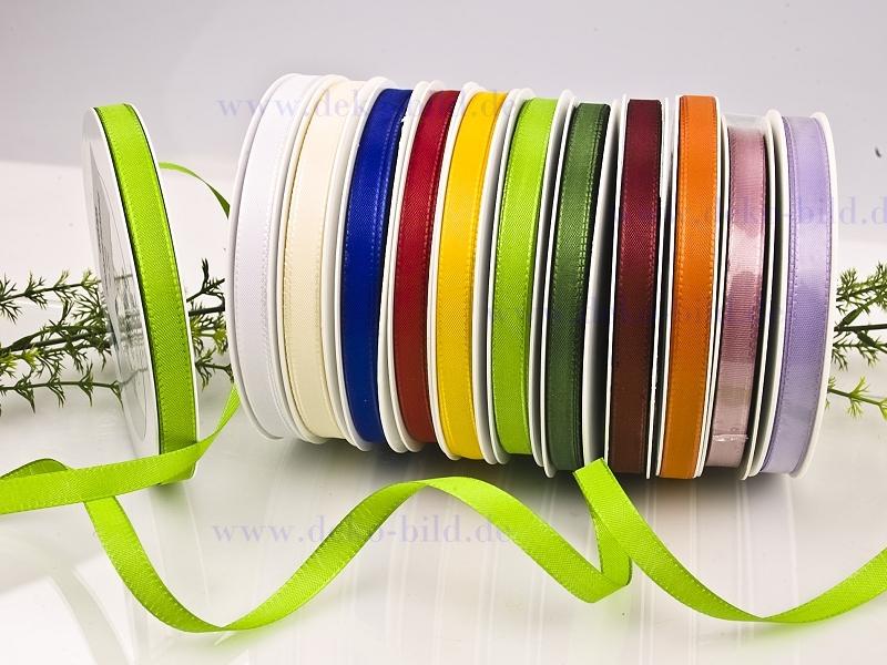 Dekoband  - 10mm - 50m - verschiedene Farben