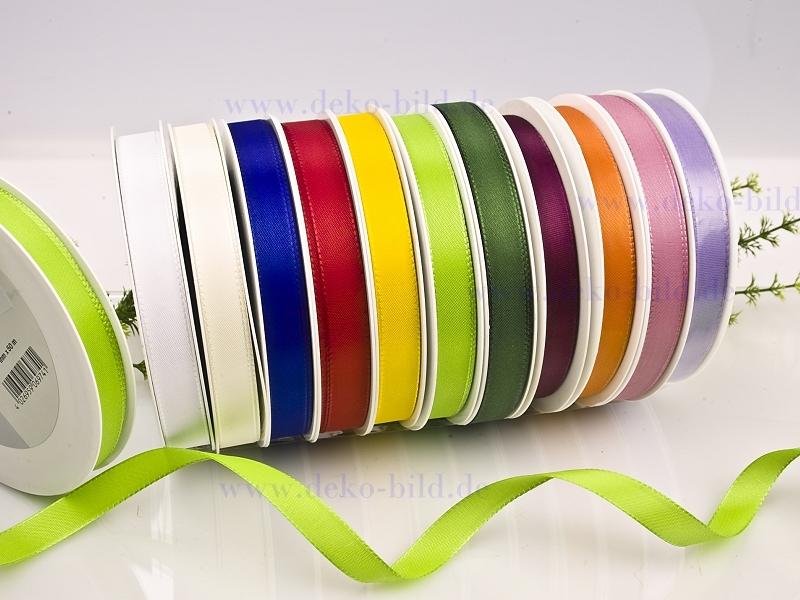 Dekoband  - 15mm - 50m - verschiedene Farben