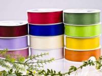 Dekoband - 40mm - 50m -  verschiedene Farben