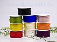 Kordel - 2mm - 50m- verschiedene Farben