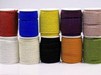Kordel -  6mm - 25m- verschiedene Farben